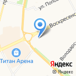 Авеню на карте Архангельска