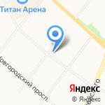 Эталон на карте Архангельска