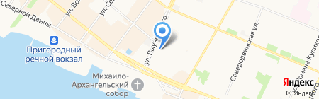 Мега Мир на карте Архангельска