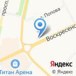 а29 на карте Архангельска