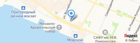 ПИК на карте Архангельска