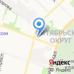 Сборный пункт Архангельской области на карте Архангельска