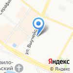 Пользователь-ПК на карте Архангельска