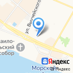 Платежный терминал на карте Архангельска