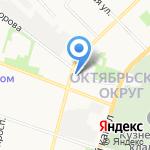 ИТ-Сомекс на карте Архангельска
