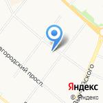 Багира на карте Архангельска