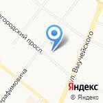 Element на карте Архангельска