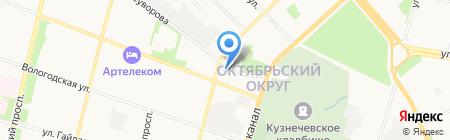 IT-Somex на карте Архангельска