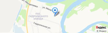 Детский сад №84 Сказка на карте Архангельска