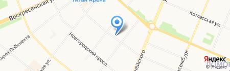Студия дизайна интерьеров Иннокентия Рябова на карте Архангельска