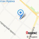Рива на карте Архангельска