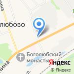 Фортуна К на карте Владимира