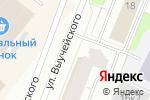 Схема проезда до компании Акрополь в Архангельске