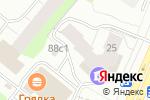 Схема проезда до компании ИЗОСТРОЙ в Архангельске