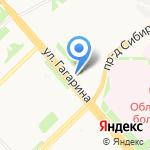 Соня на карте Архангельска