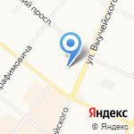 Танго на карте Архангельска
