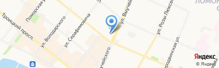 Банкомат ФондСервисБанк на карте Архангельска