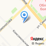 Адвокатский кабинет Перминова В.П. на карте Архангельска