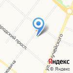 Управление организации тылового обеспечения на карте Архангельска