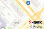 Схема проезда до компании Эконом-класс в Архангельске