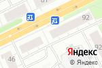 Схема проезда до компании Ница в Архангельске