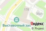 Схема проезда до компании КИВ-125 в Архангельске