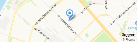 Точка зрения на карте Архангельска