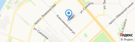 Гарант на карте Архангельска
