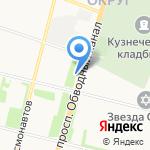 Мастерская по ремонту сотовых телефонов на карте Архангельска