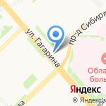 Виола на карте Архангельска
