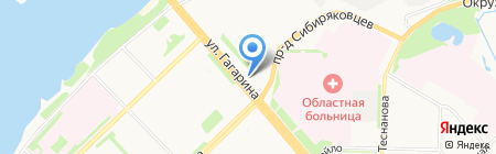 Карнавал-студия на карте Архангельска