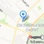 Белый Квадрат на карте Архангельска