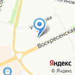 Прайс-Мастер на карте Архангельска