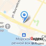 Отделение Пенсионного фонда РФ по Архангельской области на карте Архангельска