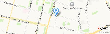Компмастер на карте Архангельска