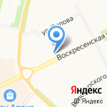 Богатырь на карте Архангельска