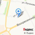 А2 Мебель на карте Архангельска