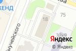 Схема проезда до компании Управление развития туризма министерства культуры Архангельской области в Архангельске