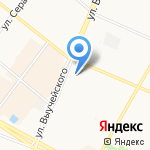 Отдел управления по рыбному хозяйству на карте Архангельска