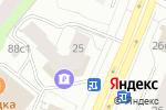 Схема проезда до компании Hander в Архангельске