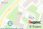 Схема проезда до компании Мастерская по резке стекла в Архангельске