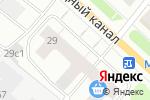 Схема проезда до компании Конфетти в Архангельске