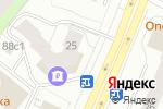 Схема проезда до компании Кега в Архангельске