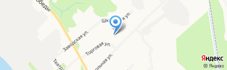 Паспортное отделение Маймаксанского округа на карте Архангельска
