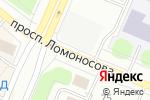 Схема проезда до компании Мишка Авто в Архангельске