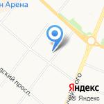 Улитка на карте Архангельска