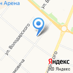 Лепесток на карте Архангельска