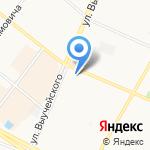 Городок на карте Архангельска