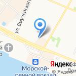 Двинской Бутлегер на карте Архангельска