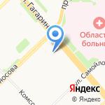 Веселые ребята на карте Архангельска